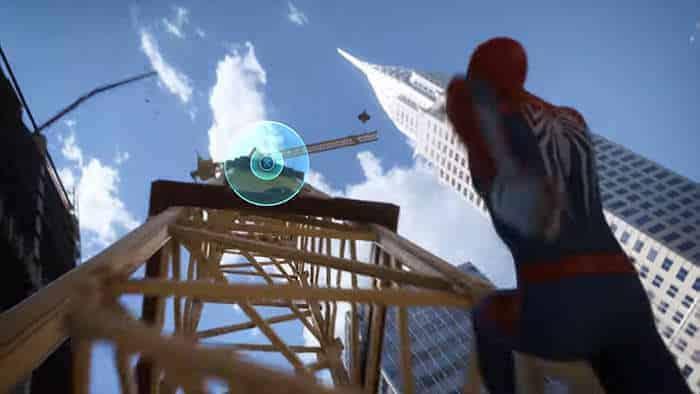 spider-man insomniac trailer quick time event