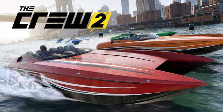 the crew 2 boat