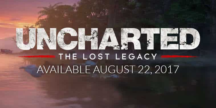 uncharted the lost legacy release date
