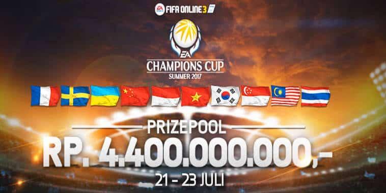 INI Hasil Skuat dan Undian Grup EA Champions Cup Summer 2017