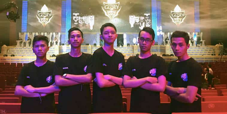evos esports mobile arena indonesia division team throne of glory