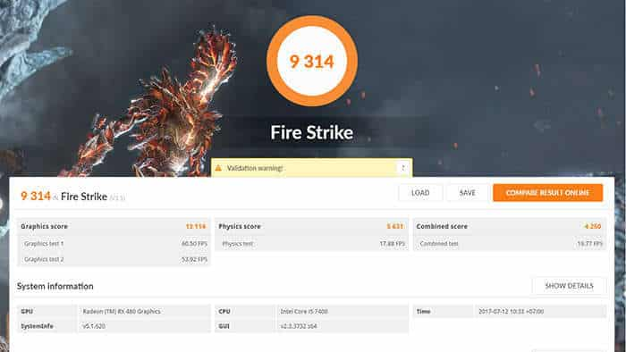 lenovo y720 cube review fire strike