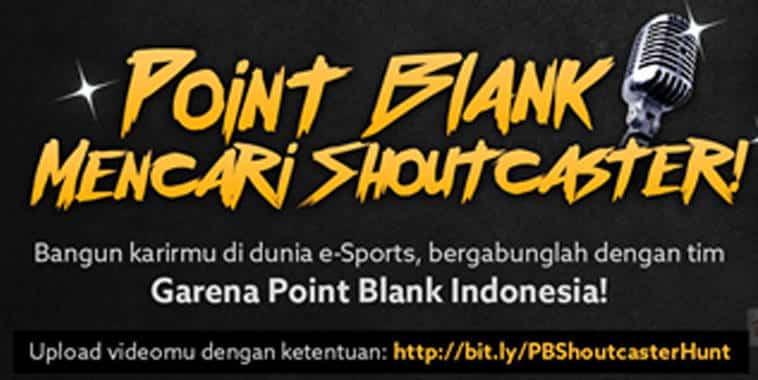 point blank shoutcaster hunt