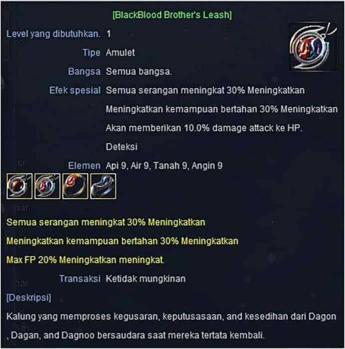 rf classic indonesia elan pitboss drop item ring blackblood brothers leash