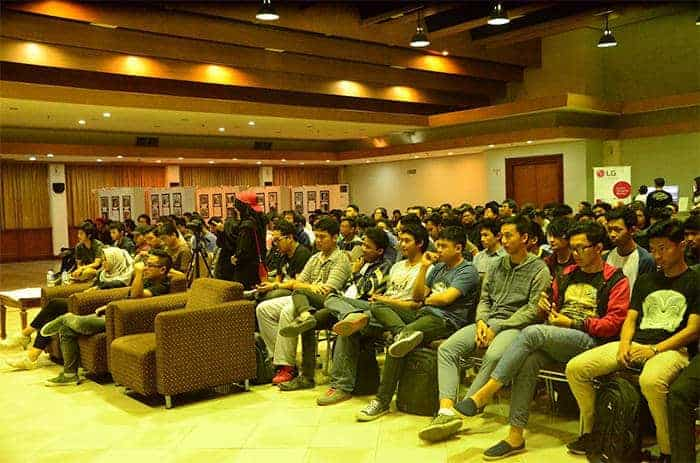wog goes to campus universitas gunadarma