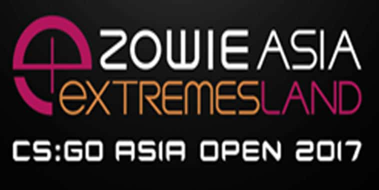 zowie asia extremeland cs go asia open 2017