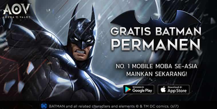 arena of valor hero batman gratis