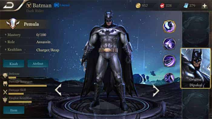 arena of valor hero batman