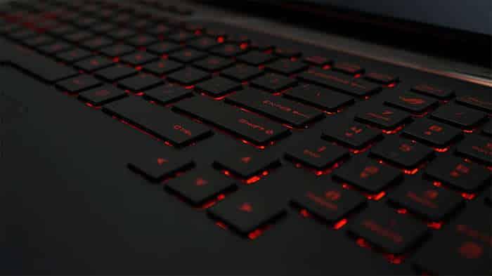 asus rog g752vsk hands on keyboard