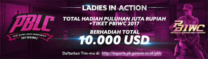 point blank ladies championship 2017 - season 2 | point blank international woman championship 2017 | rewards