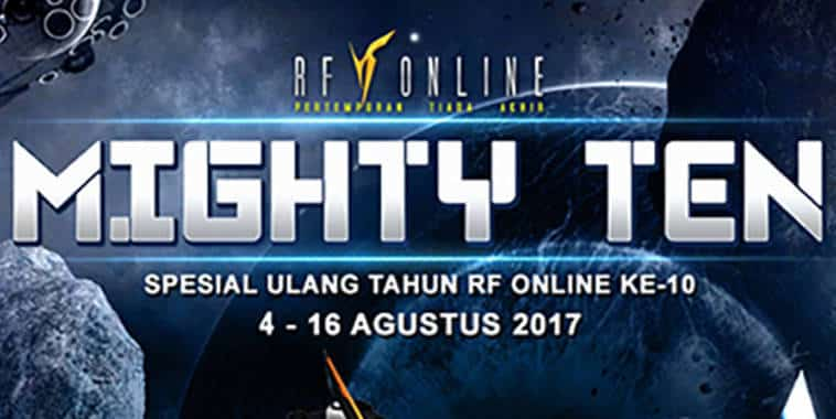 rf online indonesia mighty ten