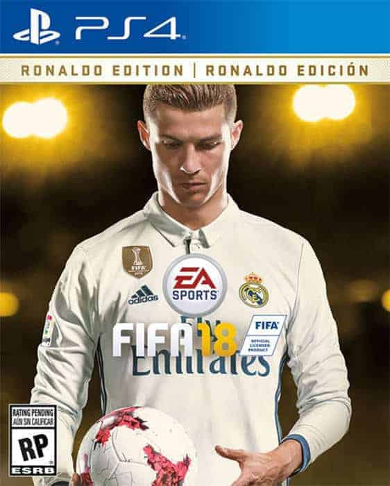 fifa 18 ronaldo edition playstation 4
