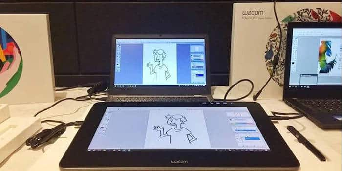 wacom intuos pro tablet display
