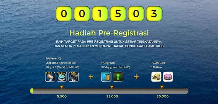 big fish king pra registrasi rewards