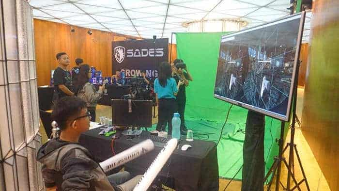 crossfire stars 2017 indonesia national final booth vr