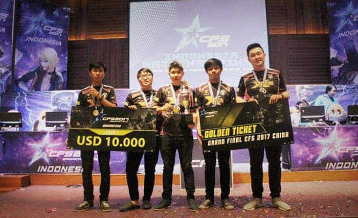 crossfire stars 2017 indonesia national final 1st winner xcn