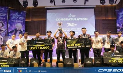 crossfire stars 2017 indonesia national final winners