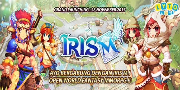 iris m launching