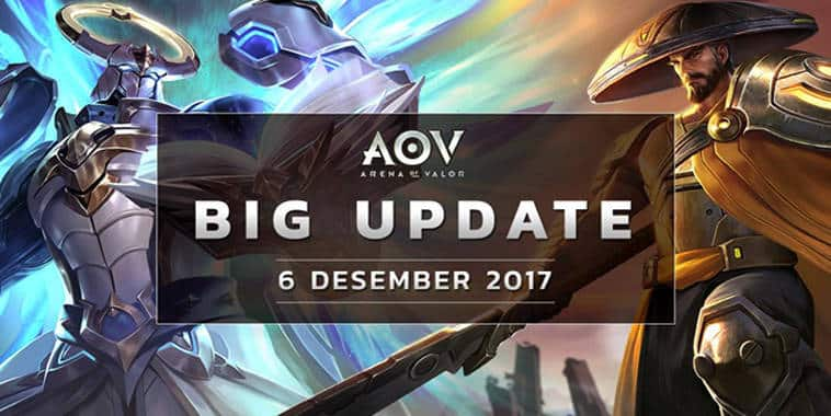 arena of valor big update 2017