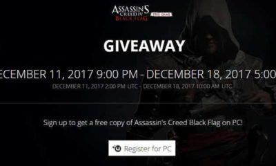giveaway assassins creed iv black flag ubisoft desember 2017