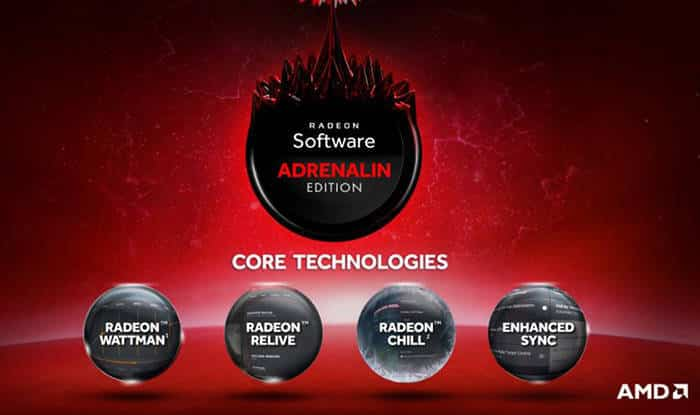 radeon core technologies adrenalin edition