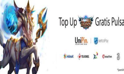 unipin mobile legends top up gratis pulsa