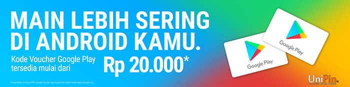 unipin voucher google play store nominal rp 20000