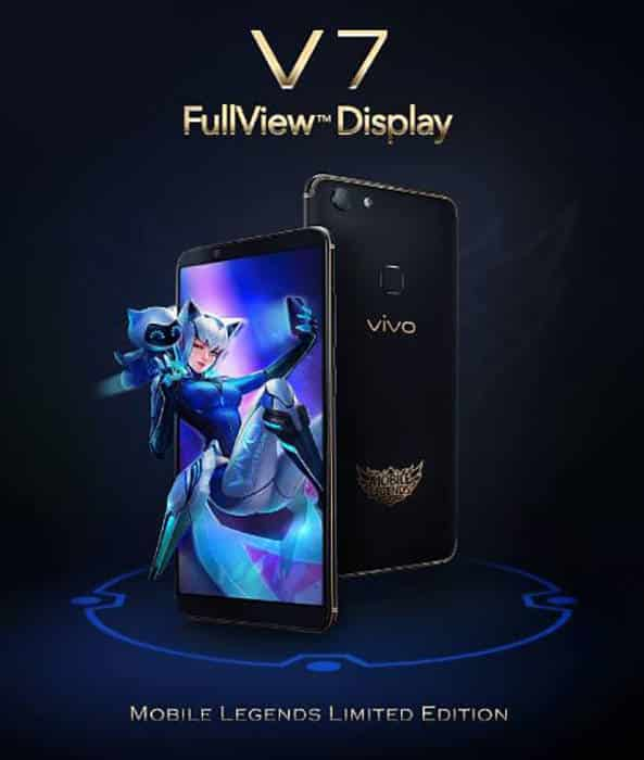 vivo v7 mobile legends bang bang limited edition fullview display