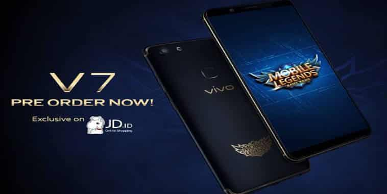 vivo v7 mobile legends bang bang limited edition pre order