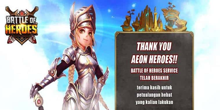 battle of heroes closed