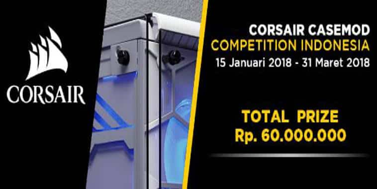 corsair casemod competition indonesia