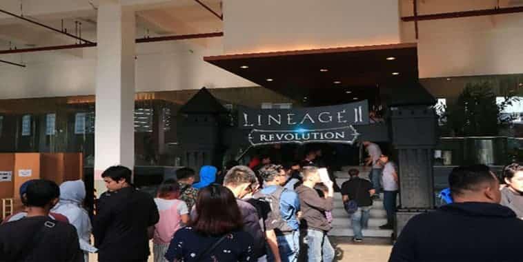lineage 2 revolution indonesia event showcase