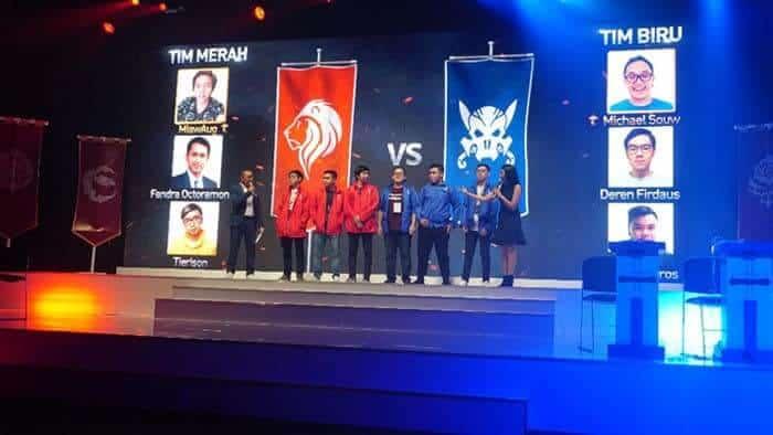 lineage 2 revolution indonesia event showcase red team blue team