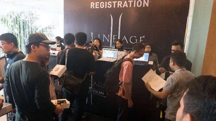 lineage 2 revolution indonesia event showcase registrasi