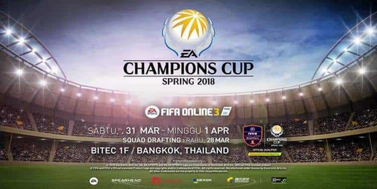 ea champions cup spring 2018