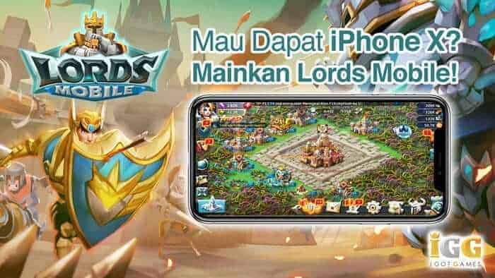 lords mobile event hadiah suka suka hadiah iphone x