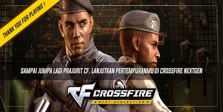 penutupan layanan crossfire indonesia