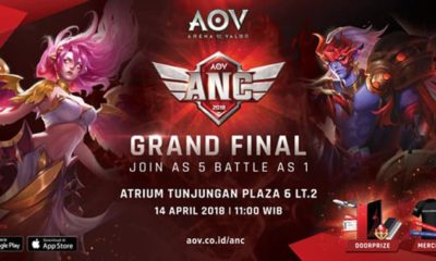 Grand Final AOV National Championship 2018 akan Diadakan di Surabaya
