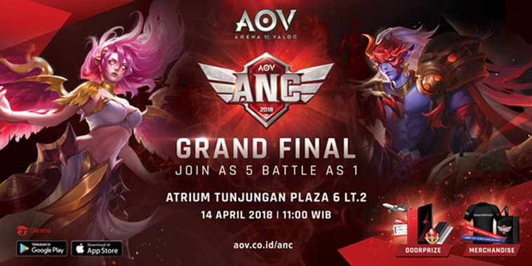 aov national championship 2018