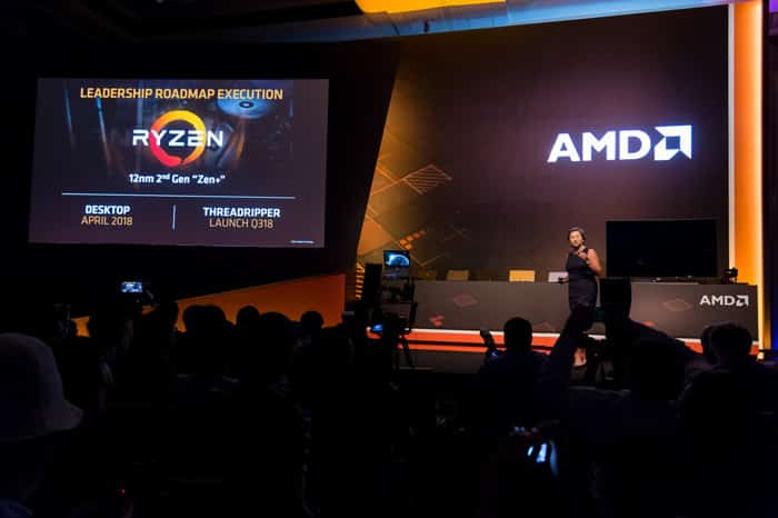 amd computex 2018 leadership roadmap execution