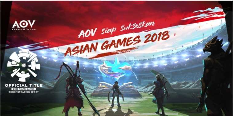 arena of valor indonesia asian games 2018