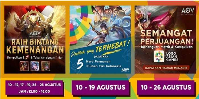arena of valor indonesia asian games 2018 event