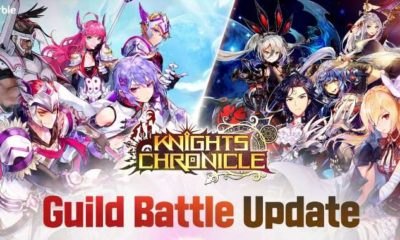 knights chronicle guild battle update