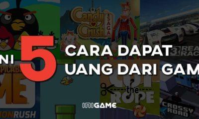 5 cara dapat uang dari online game