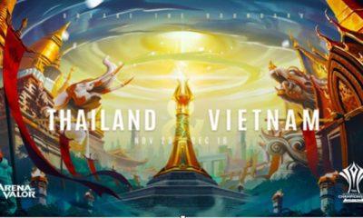 arena of valor aic 2018 thailand vietnam