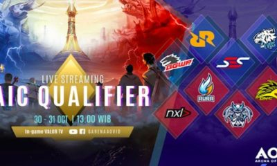 arena of valor indonesia aic qualifer 2018