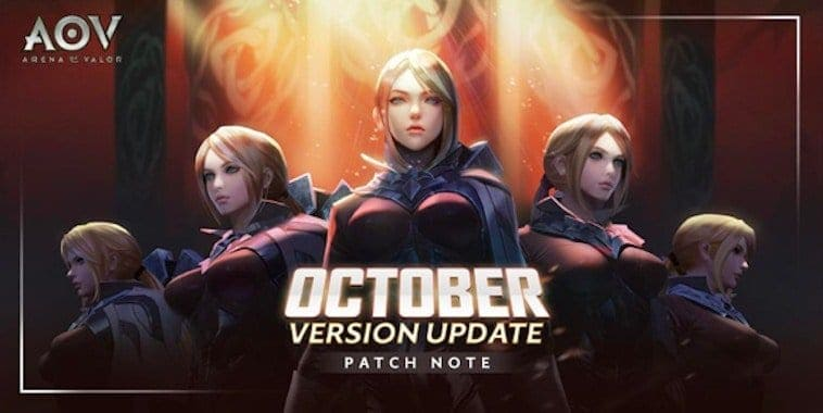 arena of valor indonesia update october 2018