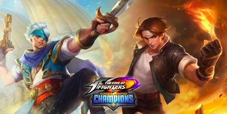 dungeon hunter champions the king of fighters