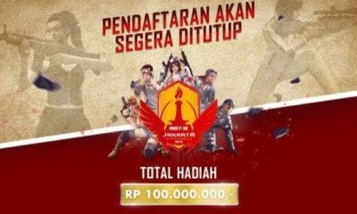 free fire indonesia jakarta invitationals 2018 pendaftaran segera ditutup