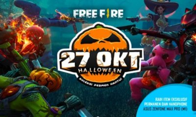 free fire indonesia update october 2018 halloween